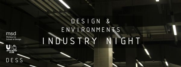Image for 2017 Design & Environments Industry Night