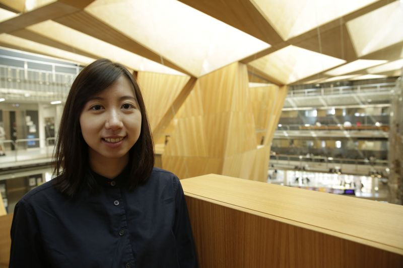 Iris Fong pictured at Melbourne School of Design