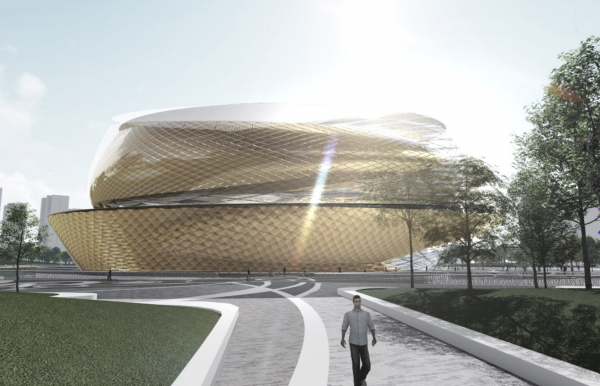 Archi-tectonics - Asian Games Stadium