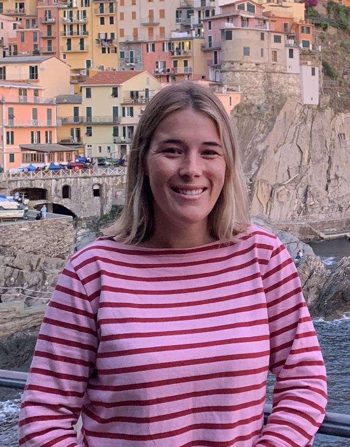 Fabienne in Italy