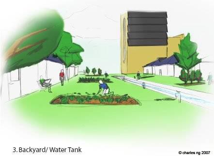 Backyard Water Tank
