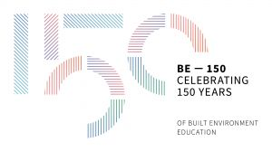 BE150 logo