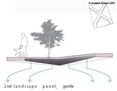 2nd landscape panel - gentle