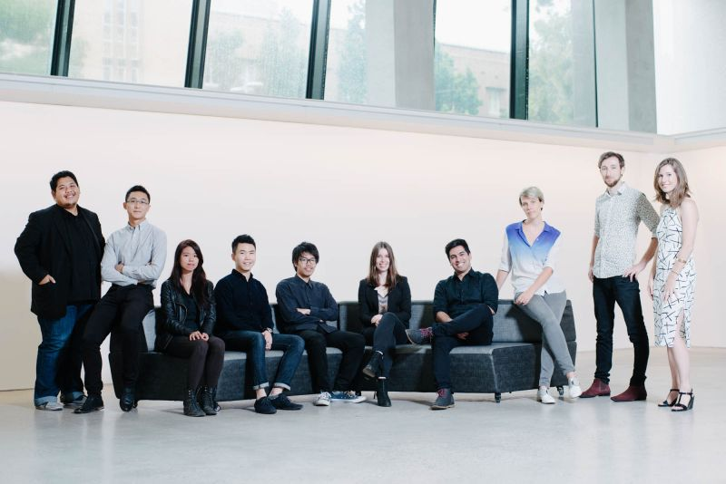 From left to right: Ahmad Faris Ahmad Zulfaar, Zhang Ye, Rachel Low, Junhong Huang, Yuta Sano, Carline Morrison, Lawrence Rocha, Coralie Ming, Will Priestley, Alexa Gower.