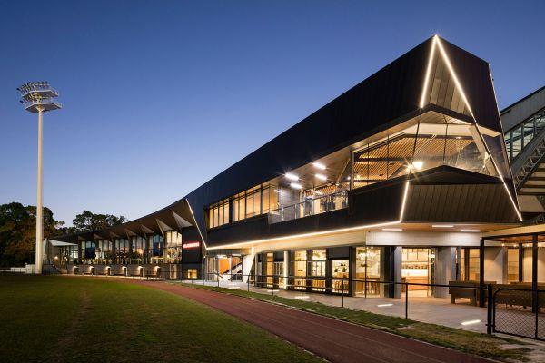 """The Glasshouse"" Olympic Park Community Facility. Architect: Croxon Ramsay."
