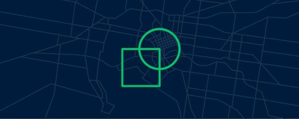 Park & Square logo on the Melbourne city grid
