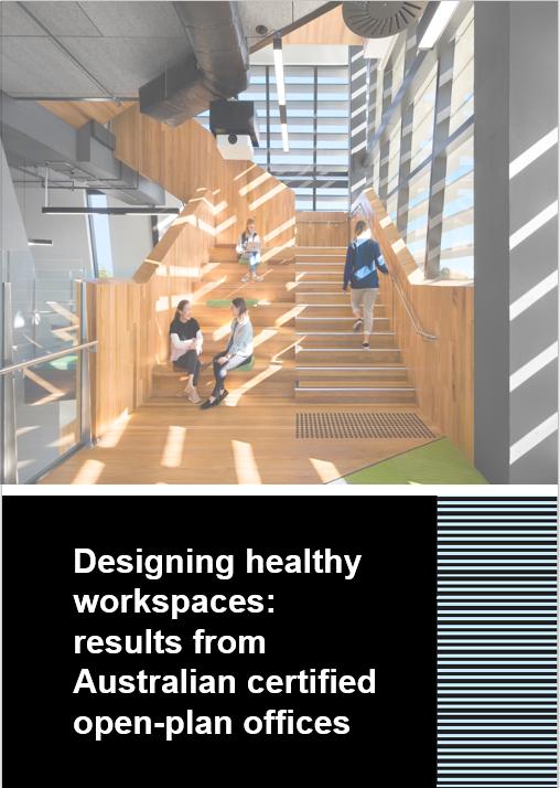 Designing healthy workspaces