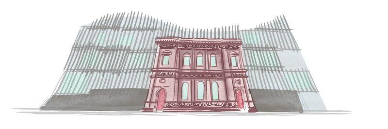 Facade illustration.