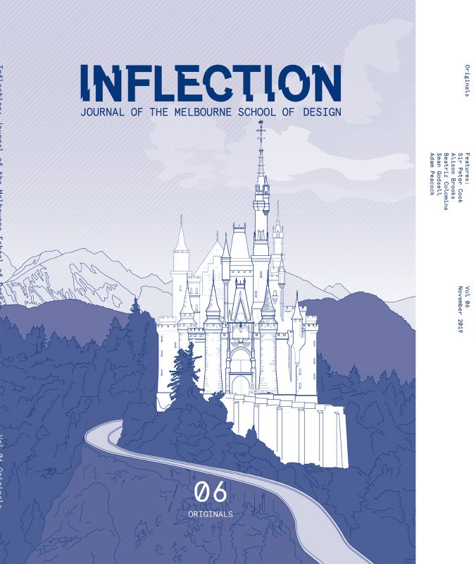 Cover of Inflection Volume 06, September 2019.